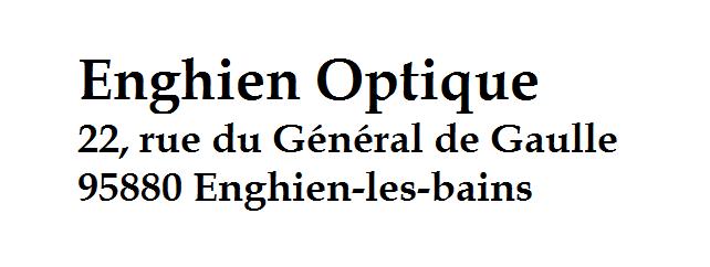 Enghien Optique